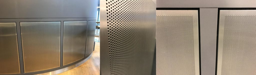 acoustic wall cladding panels - airport lounge