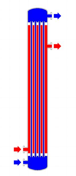 échangeur-de-chaleur-tubulaire-diagram