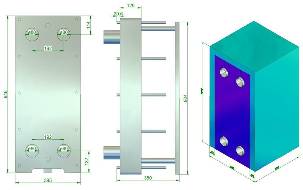 plate-heat-exchanger-insulation-jacket-design