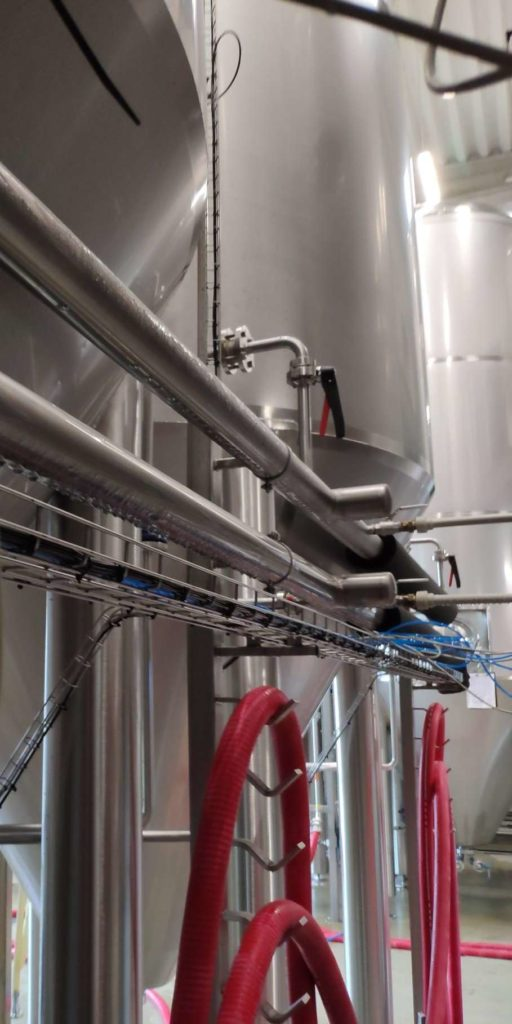no-insulation-on-brewery-pipelines